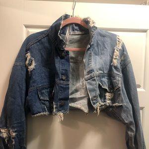 Trendy LF denim jacket! Size XS